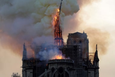 'The heart of Paris': Firefighters may not be able to save Notre Dame Cathedral