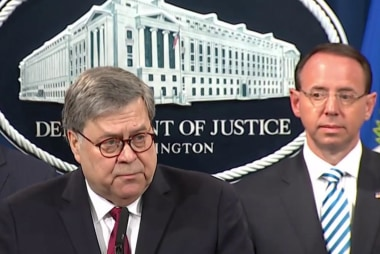 AG Barr decided his legacy, 'took one' for Trump team