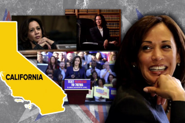 California poll may have bad news for Kamala Harris in her home state