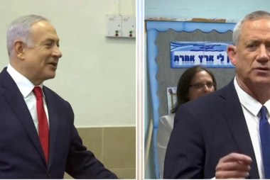 Both candidates declare victory in Israeli elections
