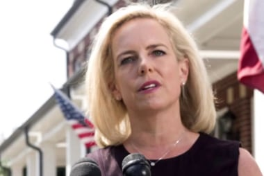 'Nielsen has such a professional stain on her that even being fired by Trump doesn't help'