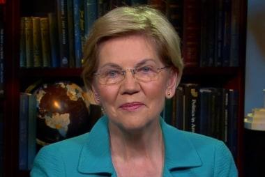Lawrence interviews presidential contender Elizabeth Warren