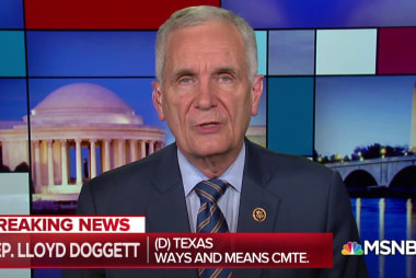 Doggett poses possible 'fines or confinement' for Mnuchin, Rettig