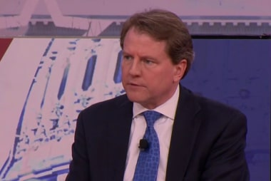 McGahn rejected Trump plea to deny obstruction Mueller detailed