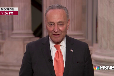 Schumer: Trump bailed on meeting to throw Rose Garden tantrum
