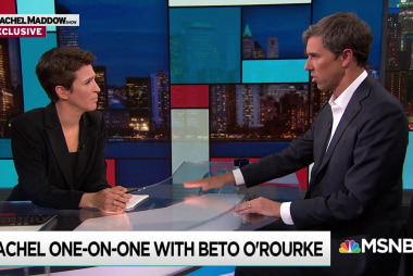 O'Rourke decries Trump 'cozying up to strongmen'