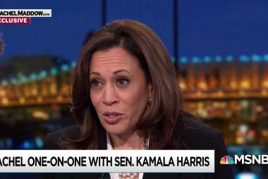 Harris: Senate Intel probe of Trump 'still a live inquiry'