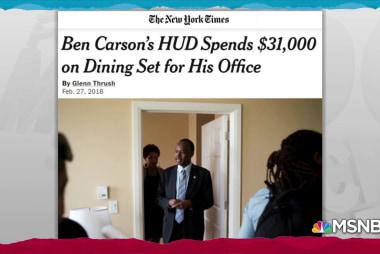 Ben Carson's extravagant spending broke the law: GAO