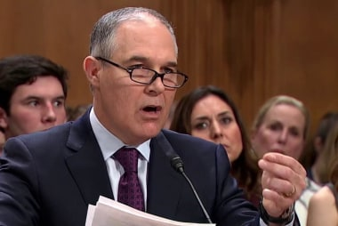 EPA declines to recoup profligate Pruitt spending