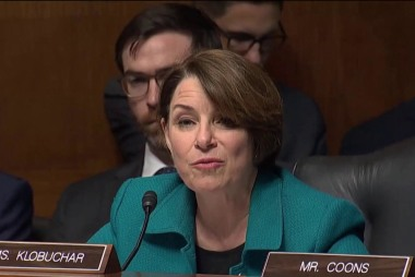 Klobuchar: White House tried to stop legislation to secure elections from foreign interference