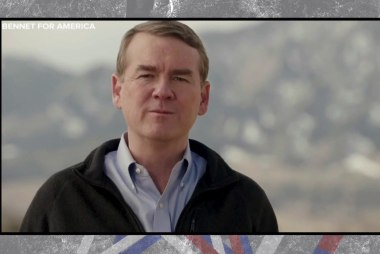 Michael Bennet joins crowded 2020 field