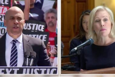 Booker, Gillibrand call for impeachment; Buttigieg, Biden escalate their rhetoric