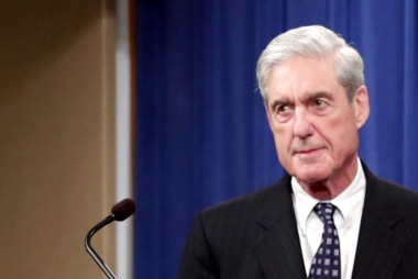 Robert Mueller says that Congress is the only body that can take the next steps on obstruction