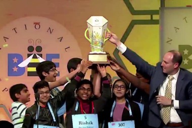 Scripps National Spelling Bee runs out of words, crowns 8 co-champions