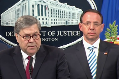 Play the tape: Mueller's words vs. Barr's words