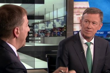 Full Hickenlooper: Capitalism 'needs a lot of help'
