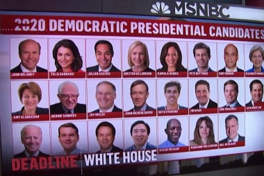Moments catching fire: How the 2020 Dems break through