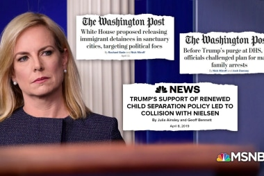Failed DHS policy of 'rounding up families' sends dark message about Trump admin