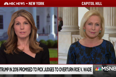 "Sen. Gillibrand: ""Trump is lying to the American people... He's someone who does not value women"""