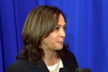 Kamala Harris is not running for 2nd place
