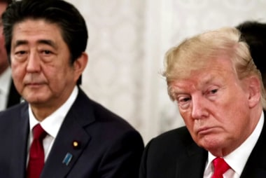 Trump's 'tour de farce' in Japan