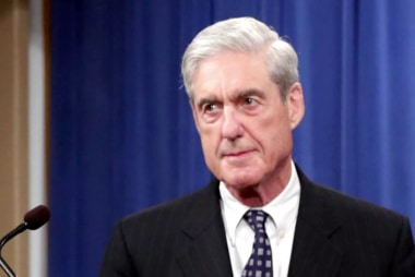Robert Mueller spoke. And his message couldn't have been clearer.