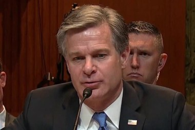 FBI Dir. Wray knocks down AG Barr's claim the Trump campaign was spied on