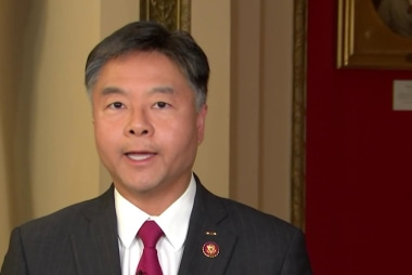 Ted Lieu says it's 'unpatriotic' for Trump to say it's ok to accept dirt from foreign govts