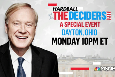 Monday: Chris Matthews goes to Dayton, Ohio for 'The Deciders' town hall