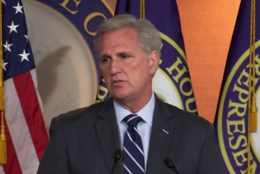 McCarthy offers word-salad defense of Trump saying he'd accept dirt from foreign govts