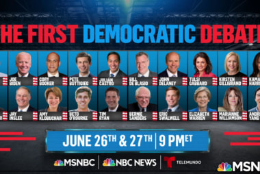 D.N.C. announces who made the first debates