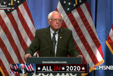 Sen. Bernie Sanders makes the case for socialism