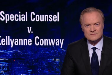 Special Counsel quotes Lawrence's report and tells the President Kellyanne Conway should be fired