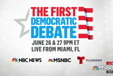 DNC announces first debate details as candidates vie for spots