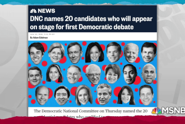 DNC announces candidates for first 2020 primary debate