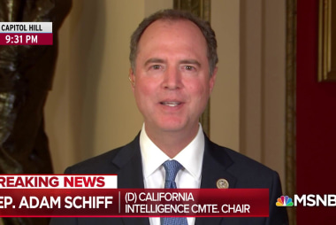 Schiff considering subpoena for FBI on Trump counterintelligence