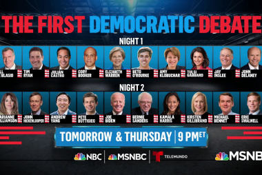Part 1 of first 2020 Democratic primary debate airs Wednesday!