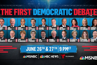 DNC announces the candidates in the first Democratic Debate