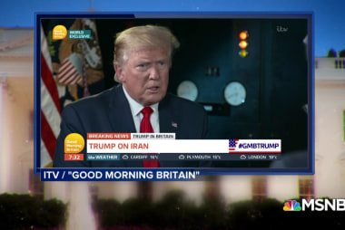 Piers Morgan conducts unusual interview with Trump