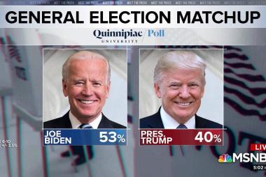 Split Screen: President Trump and Joe Biden in dueling Iowa events