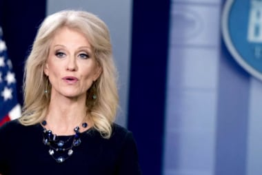 Kellyanne Conway in need of some 'alternative facts' of her own