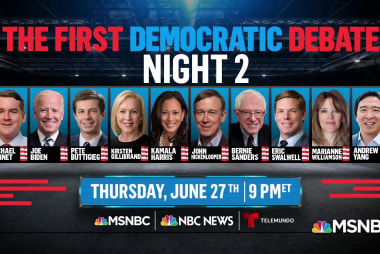 Democratic debate nights are set. Who will be where & why it will matter.