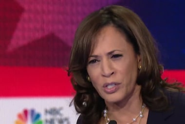 Kamala Harris breaks out of a crowded field