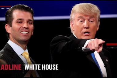 Not my son! Trump reacts to accusations Don Jr. committed crimes