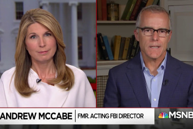 Andrew McCabe: Trump gets political value propagating narrative he's at war with the 'deep state'