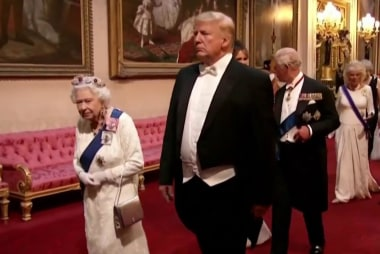 Pageantry and a Power Struggle: Inside Trump's tumultuous first day of U.K. visit