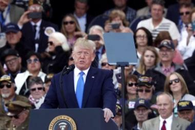 A split-screen presidency