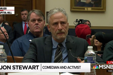 Jon Stewart: 'Indifference cost these men and women their most valuable commodity, time.'