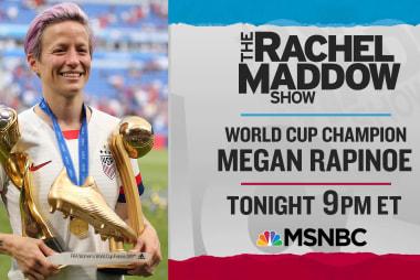 Rapinoe, Sanders, Harris make week of big Maddow show interviews