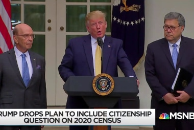 Trump suffers resounding defeat on census citizenship question